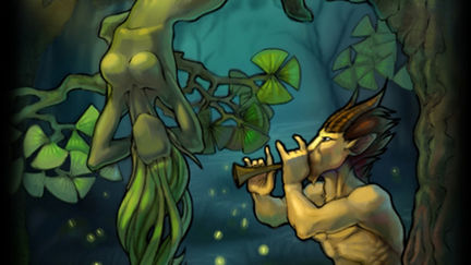 Satyr and Dryad