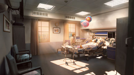 Hospital Room - Life Is Strange