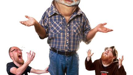 """Official Movie Poster for """"The People VS George Lucas"""""""