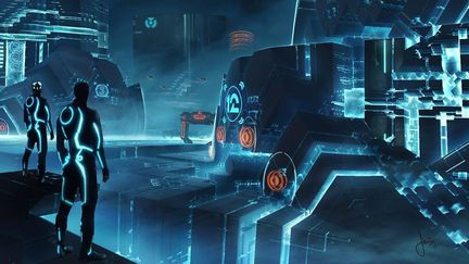 Tron 3- Vis Dev art
