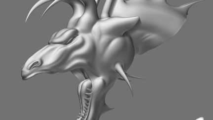 working progress Dragon