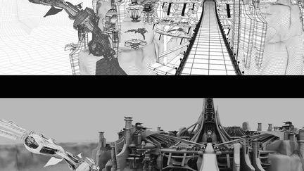 Palace of Light from Disney/Pixars John Carter