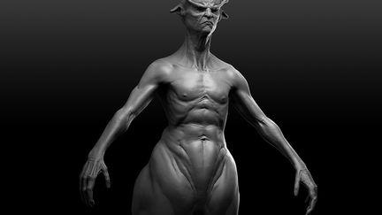Centaur creature. wip