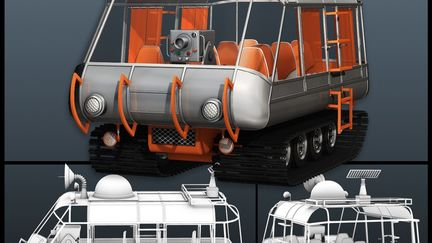 Jupiter 2 Vehicles