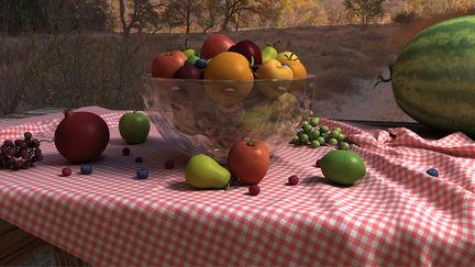Fruit picnic