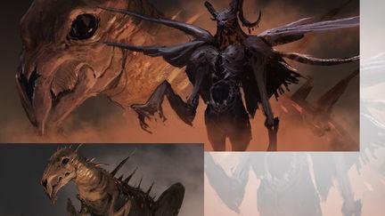 dark monster