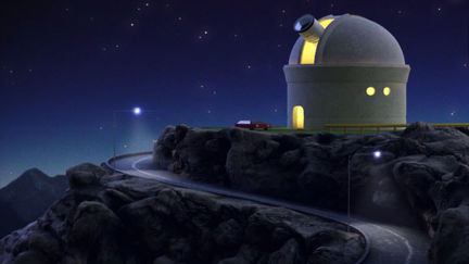 Observatory (Still image from commercial)