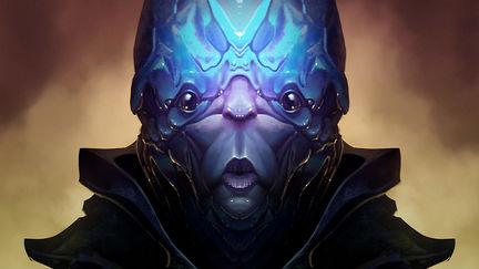 Alien portrait