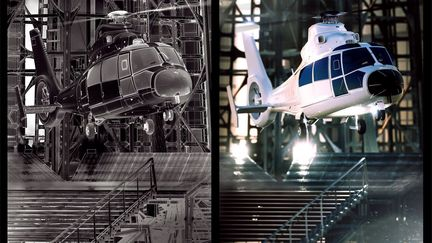 helico 3d-scene