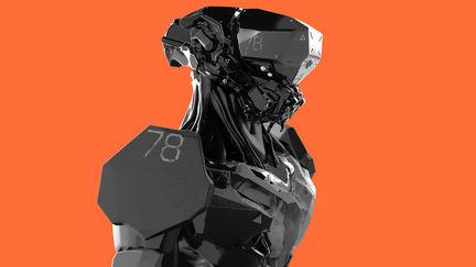 Robot sketch