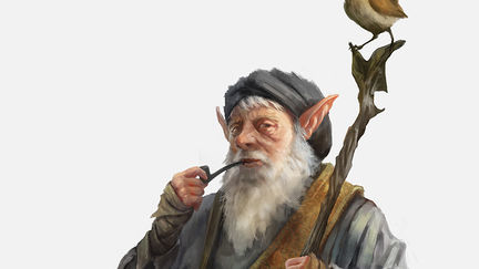 Jhaane, elderly Gnome herbalist