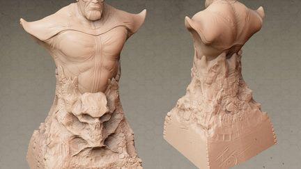 Thanos : Zbrush Model