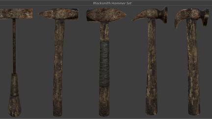 Blacksmith Hammer set