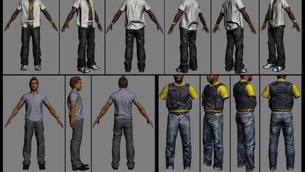 Max Payne 3 character art 2
