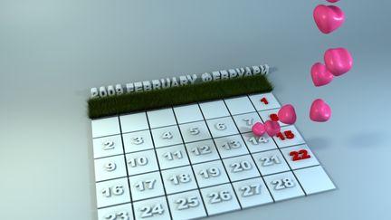 Valentine's calendar