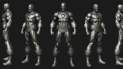 "Marvel Comics ""Iron Man(Classic)"" Museum Statue for Bowen Designs"