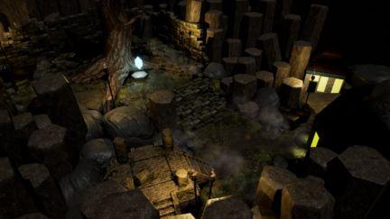 Fantasy Level Vignette - Angle 2
