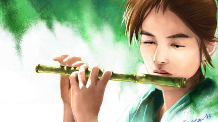 Digital Painting Seven Swords