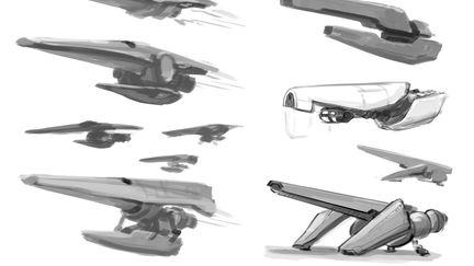 'Jackhammer' Spaceship Concepts