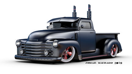 Chevy pick up 50's