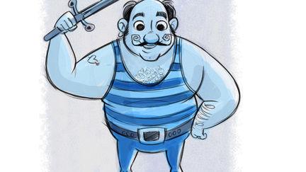 Circus - Digital Illustration