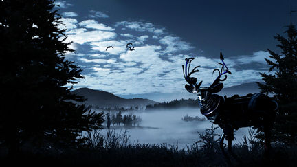Mist concept art - the Reindeer