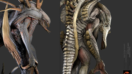EVOLVE Game characters