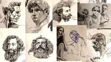 some old sketches...