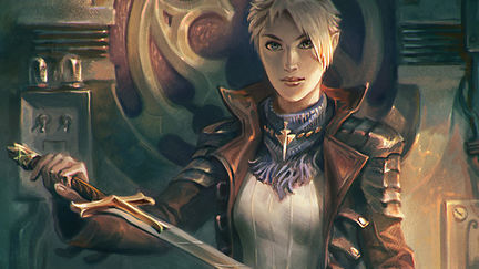 Vika, the Golden Blade of Helion