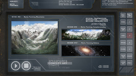 Sci-Fi Portfolio_Environment Design