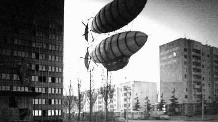 """Abandoned city"" snapshot..."