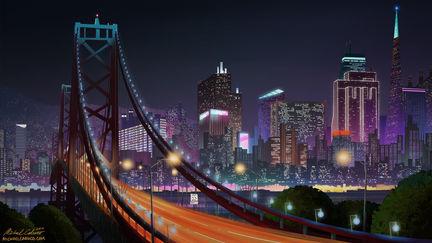 Earth 422316: San Francisco Skyline Multi-Verse