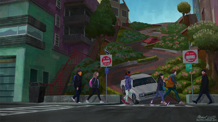 Earth 422316: SF x Lombard Street