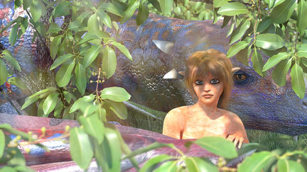 Asherah with Teles'trike Dragon