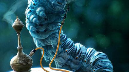 Alice in Wonderland - Caterpillar Concept
