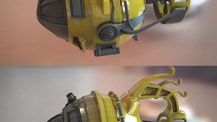 Yellow sub-marine