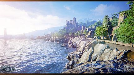 [UE4] Gameloft Rival Knights Environment