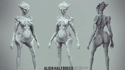 Alien halfbreed - teaser