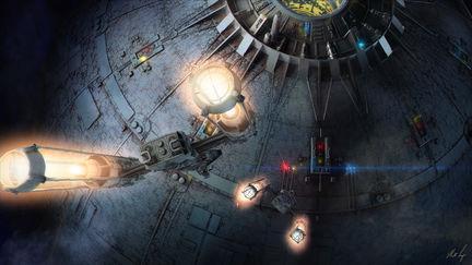 McQuarrie Deathstar & Y-Wing Concept
