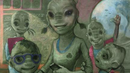 Alien Classroom