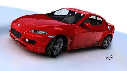 Mazda RX-8 Dirty