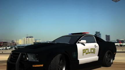 Ford Mustang POLICE Transformers