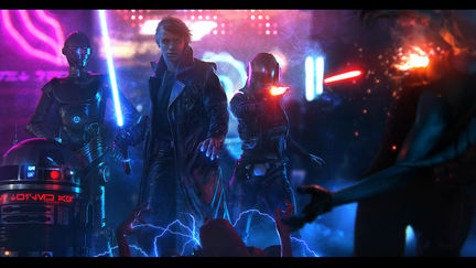 A Dark Jedi and a Renegade Princess