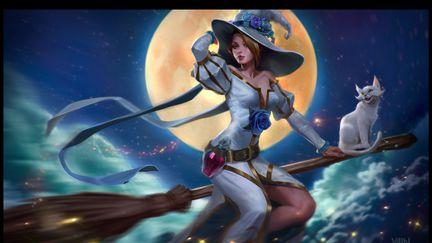 Vainglory Bea witch Celeste