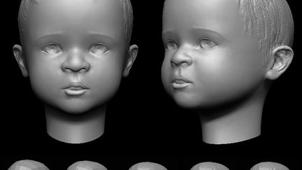 Speed Sculpting Baby Head (5Hrs)