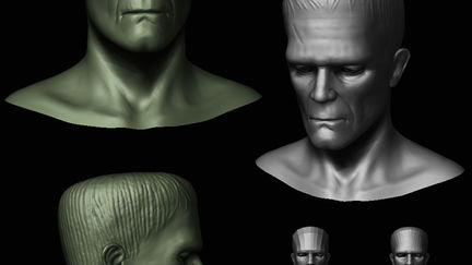 Speed Sculpting Frankie ( 6hrs )