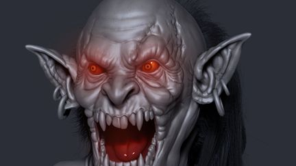 Orc Face