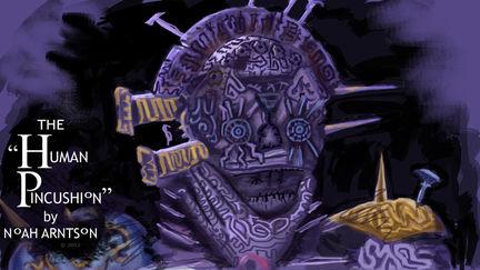 The Human Pincushion - Automaton