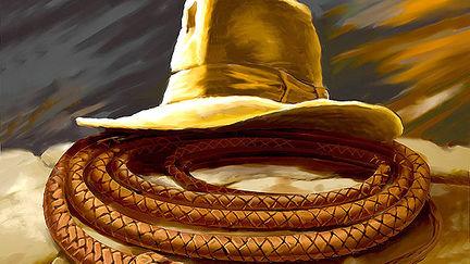 Indiana Jones magazine cover