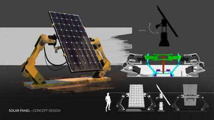 Solar Panel - Concept Design